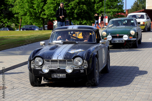 Triumph Tr4 Car Of Year 1962 Arrives To The Baltic Classic Rally