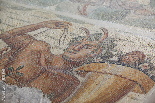 Foto op Plexiglas Cyprus mozaika antyczna