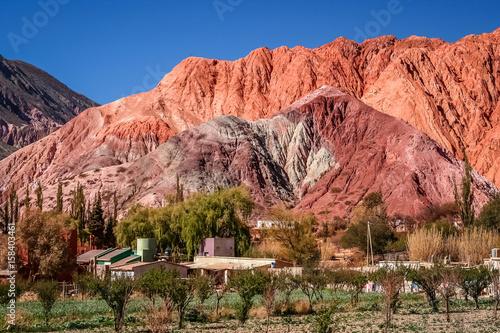 Papiers peints Corail Quebrada de Humahuaca mountains