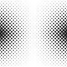 Abstract Monochrome Square Pattern Background