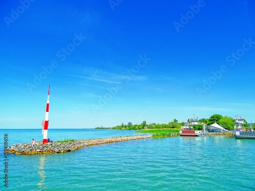 Photo  Pier at the Balaton