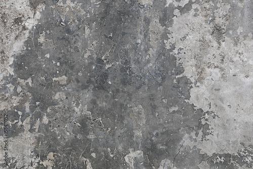 Stickers pour porte Cailloux matière texture fond béton