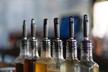Bottles In A Bar