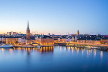 The Gamla Stan (old Town) At N...
