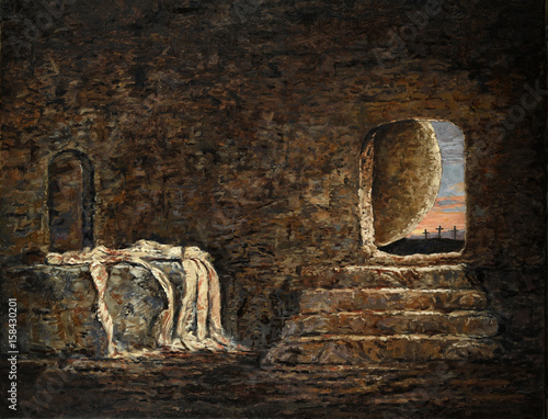 Fotografia The Empty Tomb Painting