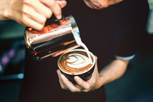 How To Make Latte Art By Baris...
