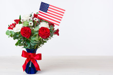 Beautiful Bouquet With America...