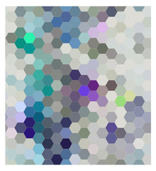 Fototapeta Hexagon seamless patern, abstract background illustration