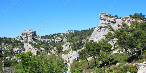 Fotomural Les Baux de Provence, France