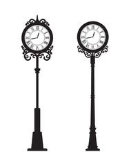 Vector Street Clock