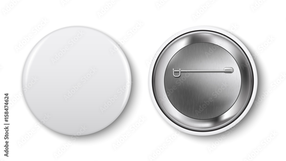 Fototapety, obrazy: Glass showcase, vector. Empty square realistic glass box on podium on white background. Showcase transparent cube form for presentation. 3d style.