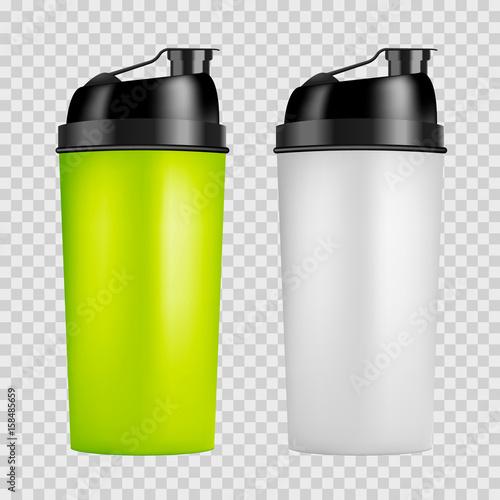 Fotografia  Protein shaker design template