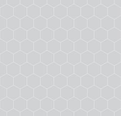 Fototapetageometric hexagon minimal grid graphic pattern background