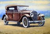 Auto, retro car paintings - 158517034