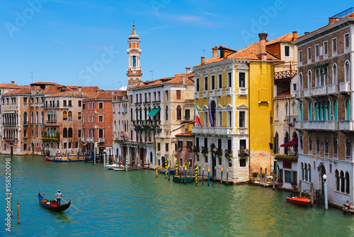 Fototapety, obrazy: Grand Canal in Venice Italy