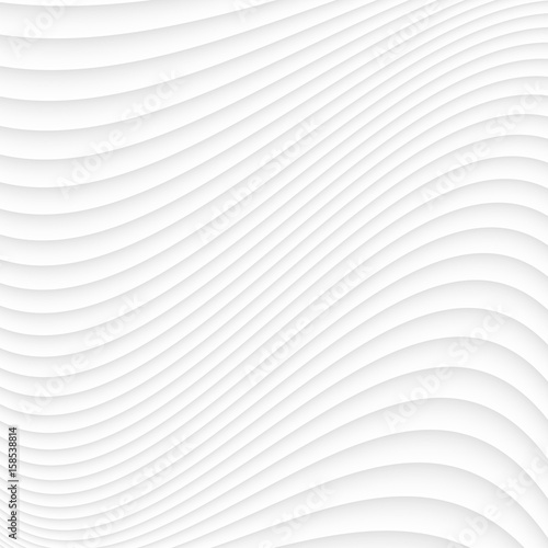 Foto op Aluminium Abstract wave White texture. abstract pattern seamless. wave wavy nature geometric modern.