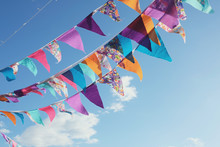 Summer Festive Colorful Buntin...