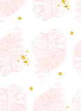 Vector seamless pattern with polka dots of rose gold and black. Gold dots, sparkles, shining dots. - 158569214