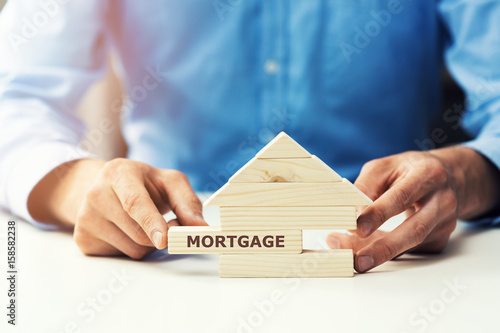 Fototapeta mortgage concept obraz