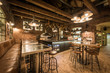 Interior of new modern restaurant / pizzeria