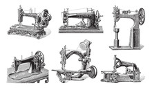 Old Sewing Machine Collection ...