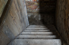 Old Stairs Leading A Way Down ...
