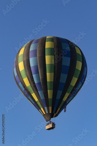 In de dag Ballon Balloon flight at Temecula Balloon Festival in Southern California