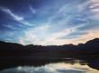 Gökyüzü mavi doğa