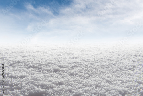 Winter snow ice Background Canvas-taulu