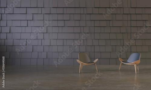 Astonishing Living Display Art Work And Chair On Contemporary Modern Machost Co Dining Chair Design Ideas Machostcouk