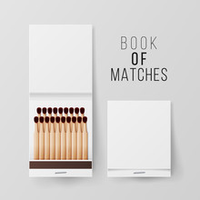 Book Of Matches Vector. Top Vi...