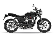 Motorcycle Vector, Realistic I...