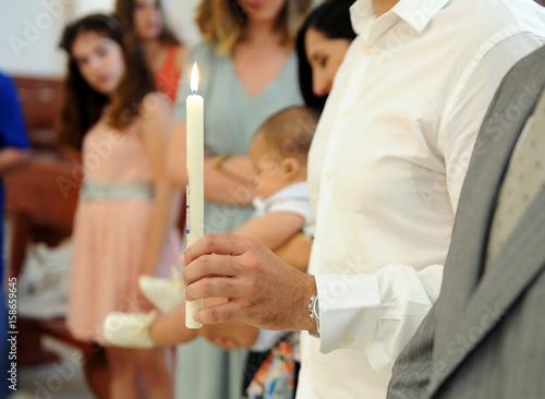 Fotografía Ceremonia del bautismo