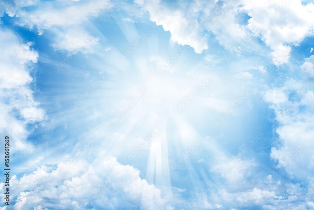 Fototapety, obrazy: Sun in sky