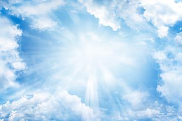 Fototapeta Sun in sky