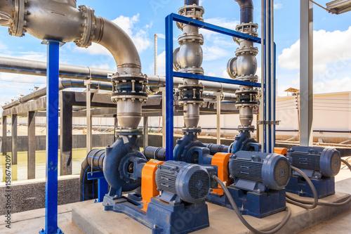 Fotografie, Obraz  Wastewater treatment plant