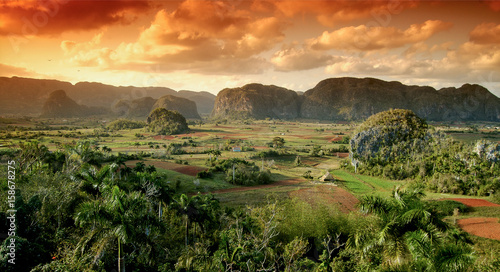 Viñales Valley, Cuba Wallpaper Mural