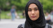 Young Muslim Woman Wearing Hij...