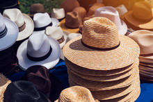Selling Classic Straw Hats On ...
