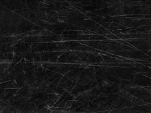 Black Old Scratched Surface Ba...
