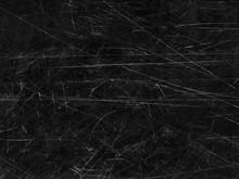 Black Old Scratched Surface Ba...