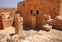 Wall In Firka Fortress At Sun ...