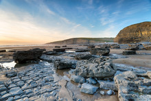 Dunraven Bay In Wales