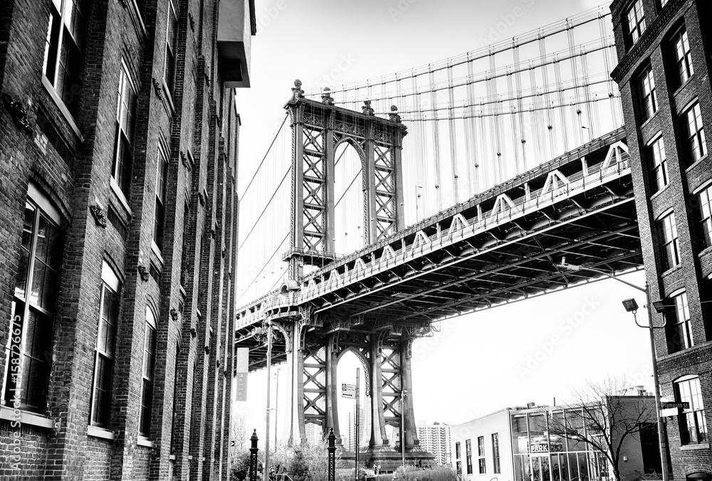 Fototapeta My Manhattan Bridge