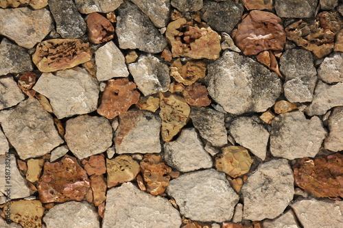 Fotografie, Obraz  Stone Wall /Zanzibar, Tanzania, Indian Ocean, Africa
