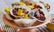 Handmade Chocolate Easter Nest...