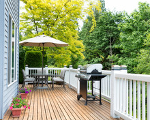 Home Deck And Patio With Outdo...