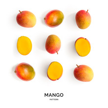 Seamless Pattern With Mango. T...