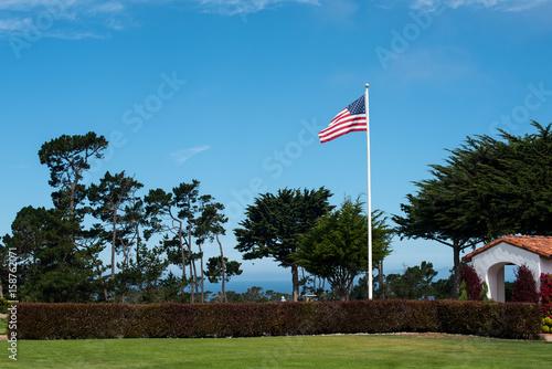 America Flag Tableau sur Toile