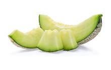 Green Cantaloupe Melon Slices ...